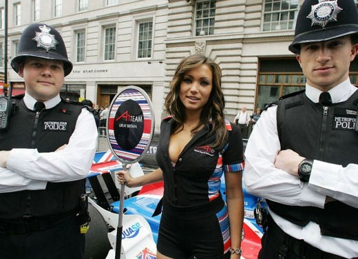 A1GP Regent Street Grid Girls - Foto 6 di 30