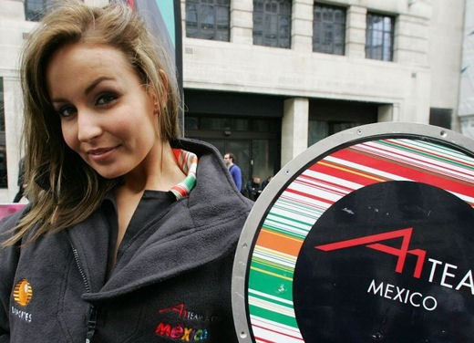 A1GP Regent Street Grid Girls - Foto 14 di 30