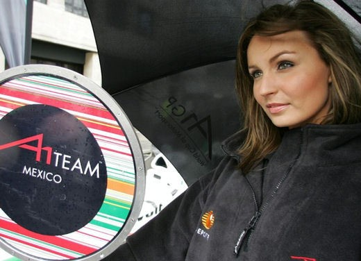 A1GP Regent Street Grid Girls - Foto 17 di 30