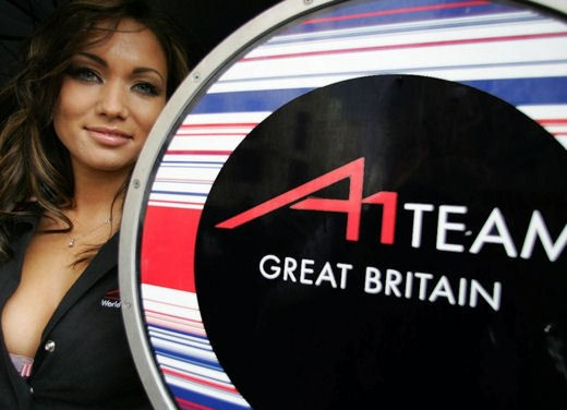 A1GP Regent Street Grid Girls - Foto 29 di 30