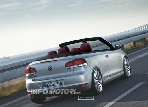 Nuova Volkswagen Golf Cabrio - Foto 3 di 9