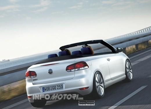 Nuova Volkswagen Golf Cabrio - Foto 4 di 9