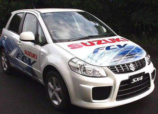 Suzuki SX4 Fuel Cell