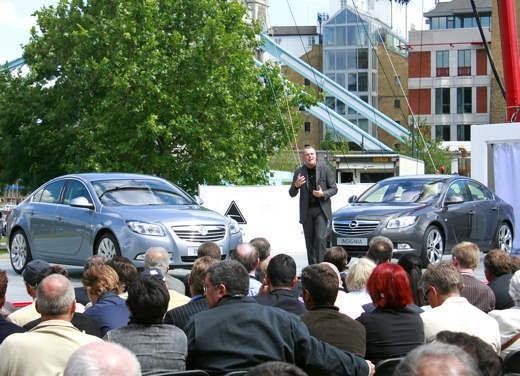 Opel Insignia – Presentazione a Londra - Foto 12 di 15