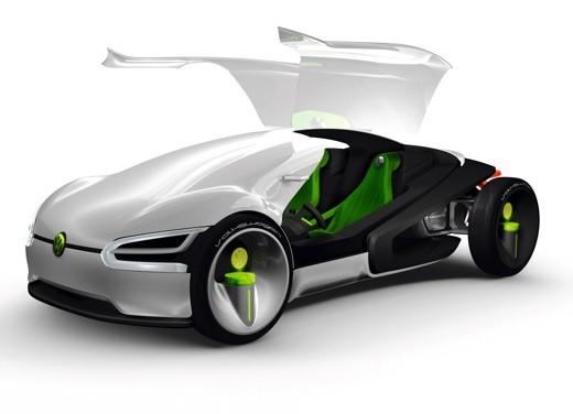 Volkswagen One, Ego e Room: il futuro dell'auto - Foto 1 di 13