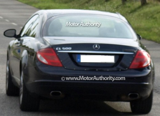 Nuova Mercedes-Benz CL – spy - Foto 8 di 9