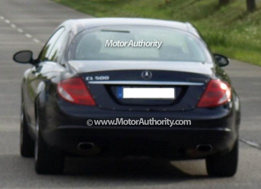Nuova Mercedes-Benz CL – spy - Foto 9 di 9