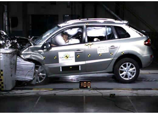 5 stelle euroncap per Renault Koleos