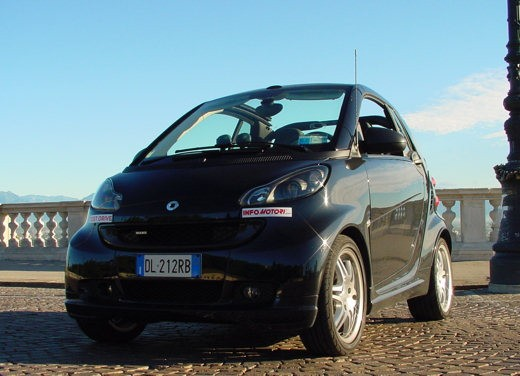 Smart ForTwo Cabrio Brabus Xclusive – Test Drive - Foto 3 di 16