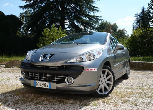 peugeot 207 cc 1 6 roland garros long test drive. Black Bedroom Furniture Sets. Home Design Ideas