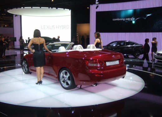 Lexus IS Coupè Cabriolet - Foto 10 di 11