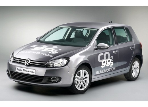 Volkswagen Golf 6 BlueMotion - Foto 9 di 10