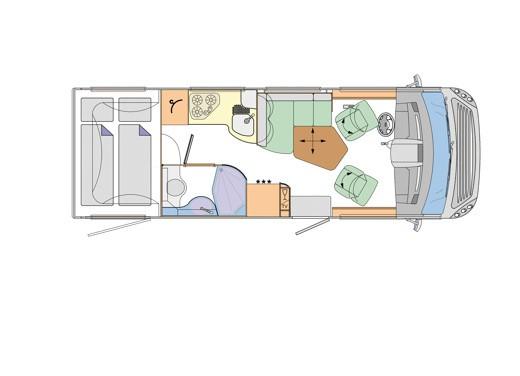 Concorde – camper di lusso - Foto 17 di 65