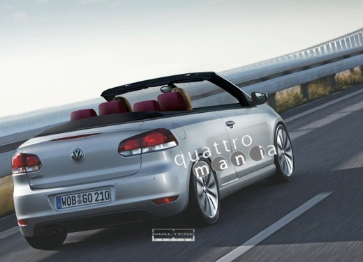 Volkswagen Golf 6 Cabrio Quattro - Foto 8 di 9