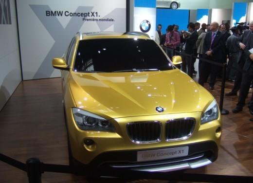 BMW X1: immagini dal Salone dell'Auto di Parigi 2008 - Foto 2 di 14
