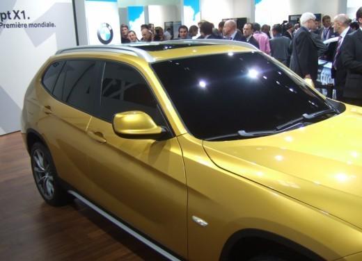 BMW X1: immagini dal Salone dell'Auto di Parigi 2008 - Foto 6 di 14