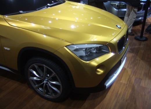 BMW X1: immagini dal Salone dell'Auto di Parigi 2008 - Foto 7 di 14