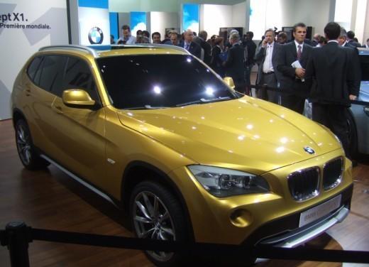 BMW X1: immagini dal Salone dell'Auto di Parigi 2008 - Foto 8 di 14