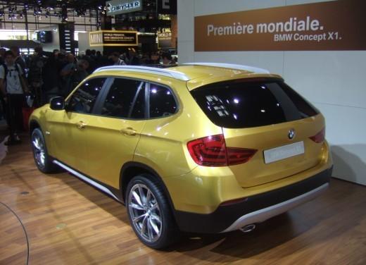 BMW X1: immagini dal Salone dell'Auto di Parigi 2008 - Foto 9 di 14