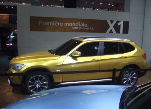 BMW X1: immagini dal Salone dell'Auto di Parigi 2008 - Foto 10 di 14