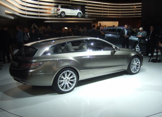 Mercedes Classe E Concept – Parigi 2008 - Foto 9 di 12