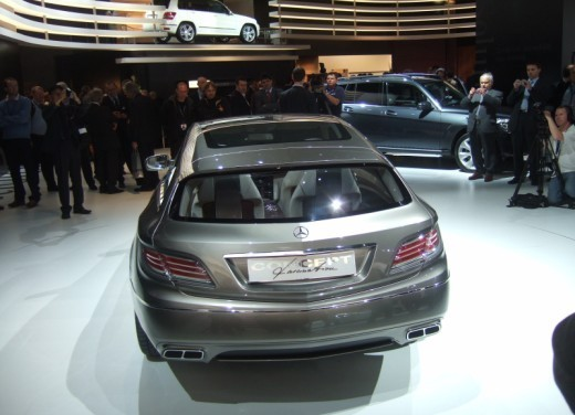 Mercedes Classe E Concept – Parigi 2008 - Foto 11 di 12