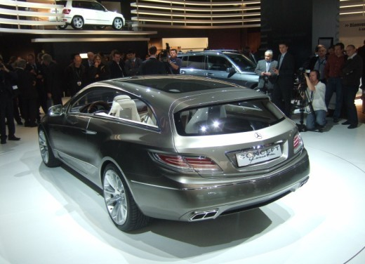 Mercedes Classe E Concept – Parigi 2008 - Foto 12 di 12