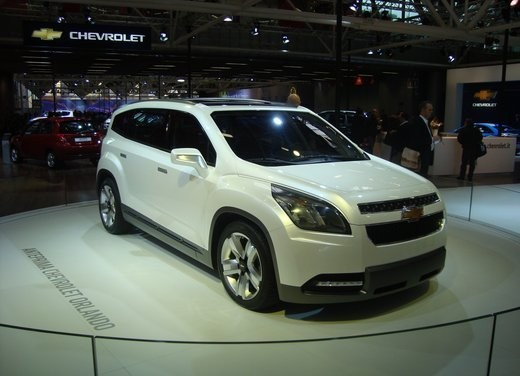 Chevrolet Orlando Concept - Foto 31 di 34