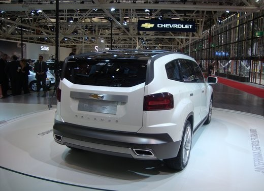 Chevrolet Orlando Concept - Foto 33 di 34