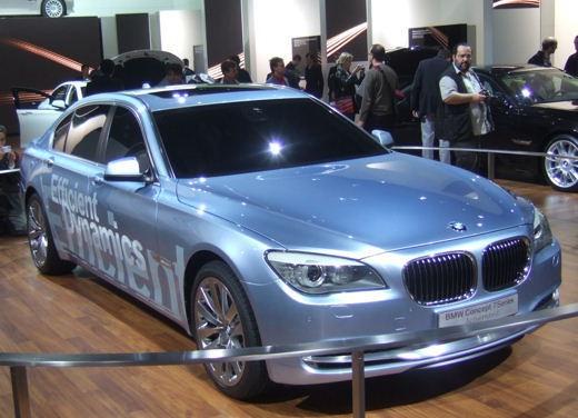 BMW Serie 7: immagini dal Salone dell'Auto di Parigi 2008 - Foto 9 di 15