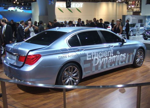 BMW Serie 7: immagini dal Salone dell'Auto di Parigi 2008 - Foto 13 di 15