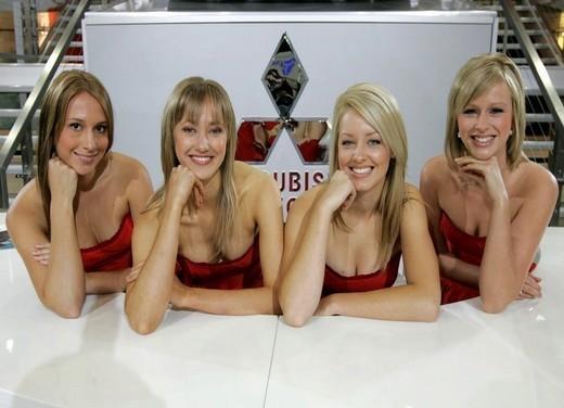 Australian Motor Show Girls
