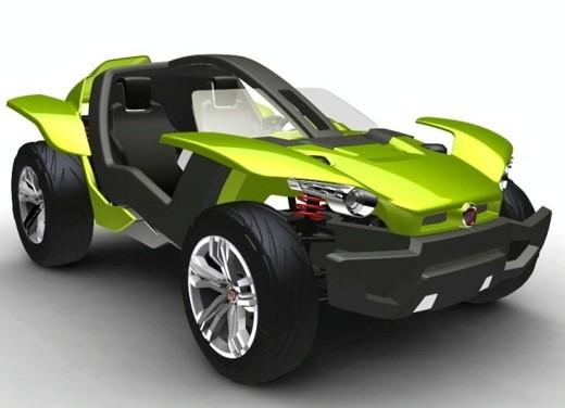 Fiat Bugster Concept - Foto 2 di 4