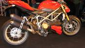 Ducati Streetfighter 848: prime foto spia della naked dalla cilindrata ridotta