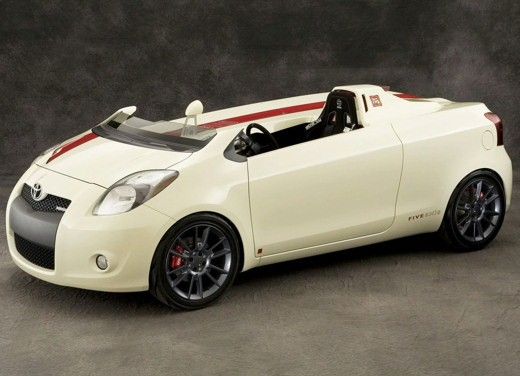 Toyota Yaris Cabrio by Five Axis Design - Foto 4 di 7