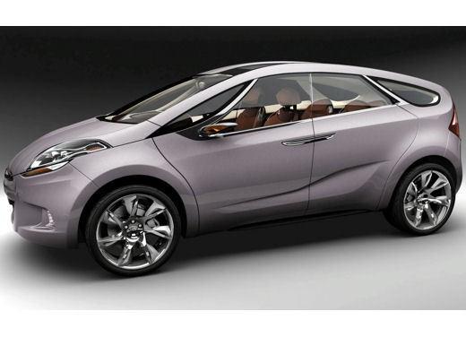Hyundai HED-5 i-Mode concept - Foto 10 di 13