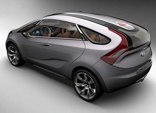 Hyundai HED-5 i-Mode concept - Foto 11 di 13