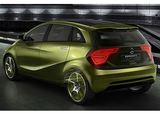 Mercedes BlueZero Concept - Foto 3 di 6