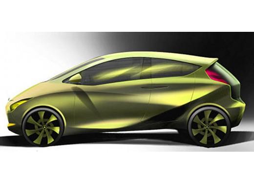 Mercedes BlueZero Concept - Foto 5 di 6
