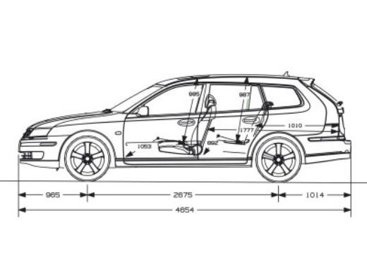 Saab 9-3 SW Sporthatch: Test Drive - Foto 4 di 20