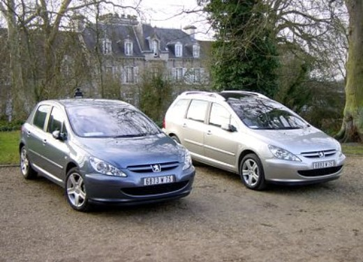 peugeot 307 hdi 136 cv test drive. Black Bedroom Furniture Sets. Home Design Ideas