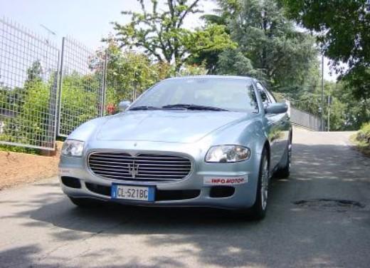 Maserati Quattroporte: la prova su strada