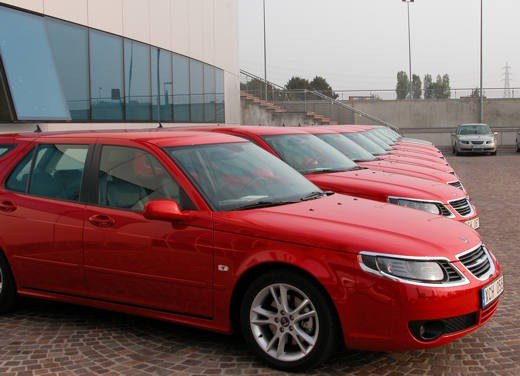 Saab nuova 9-5 : test drive - Foto 14 di 27