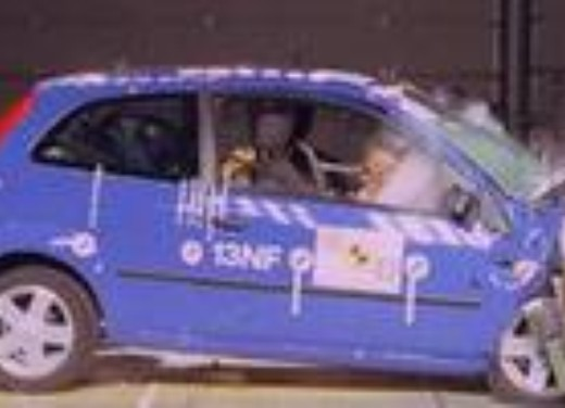 Crash test Ford Nuova Fiesta