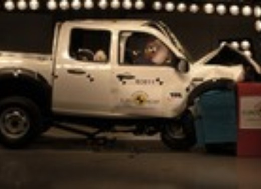 Crash test Ford Ranger