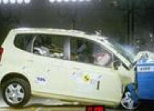 Crash test Honda Jazz