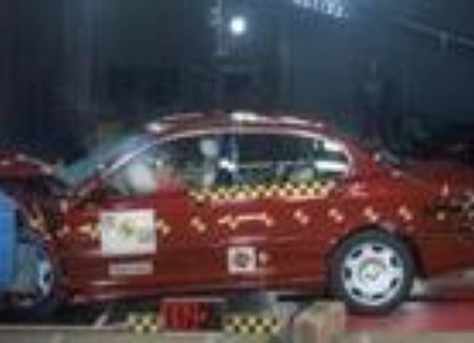 Crash test Jaguar X-Type
