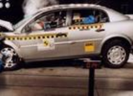 Crash test Opel Vectra berlina