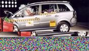 Crash test Opel Zafira