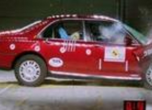 Crash test Rover 75